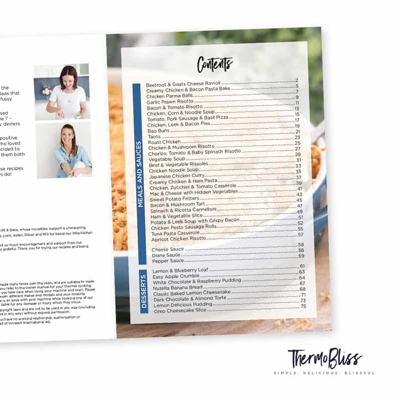 A Month Of Thermomix Dinners 2 Cookbook