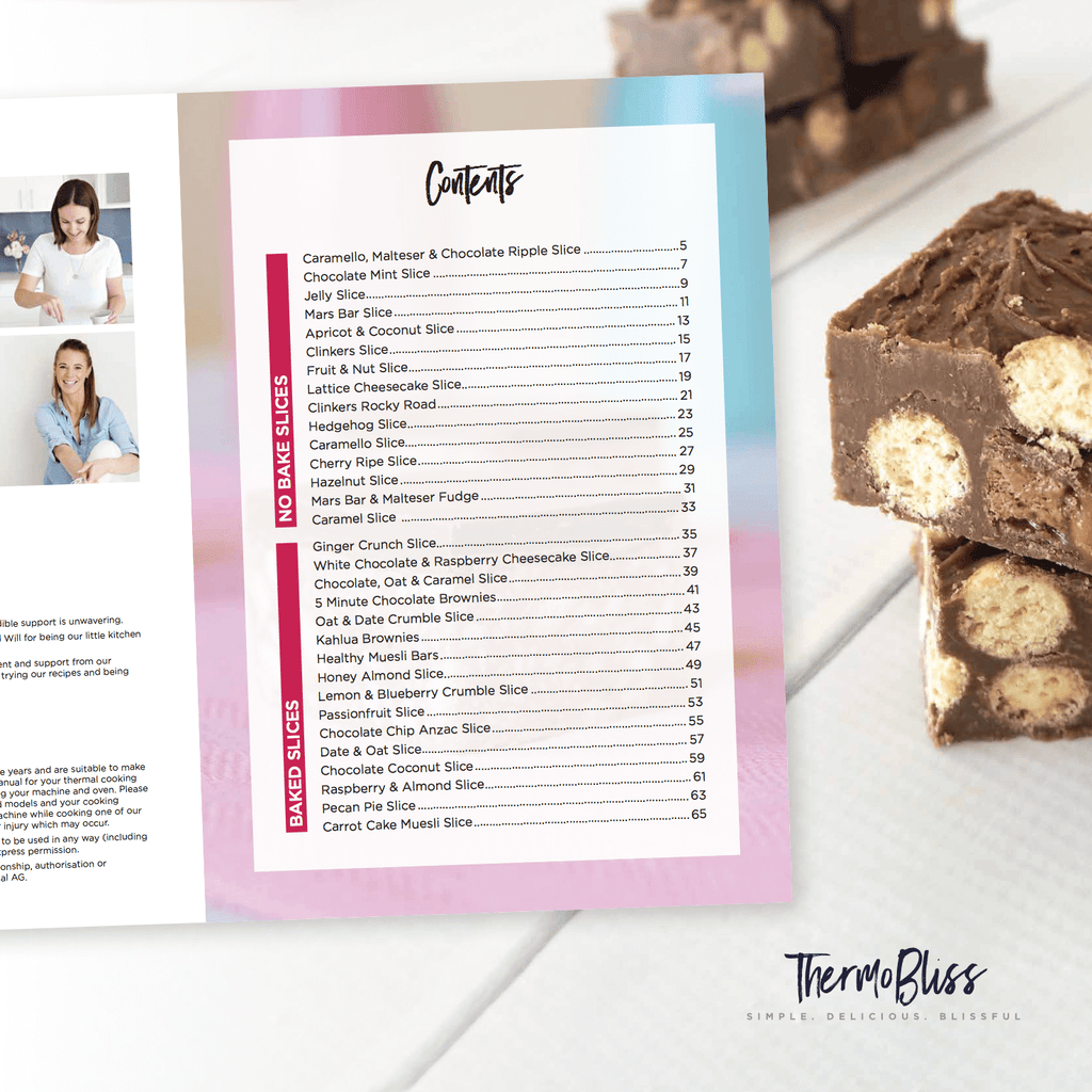 Thermomix Chocolate, Slices & Sweet EBOOK Bundle