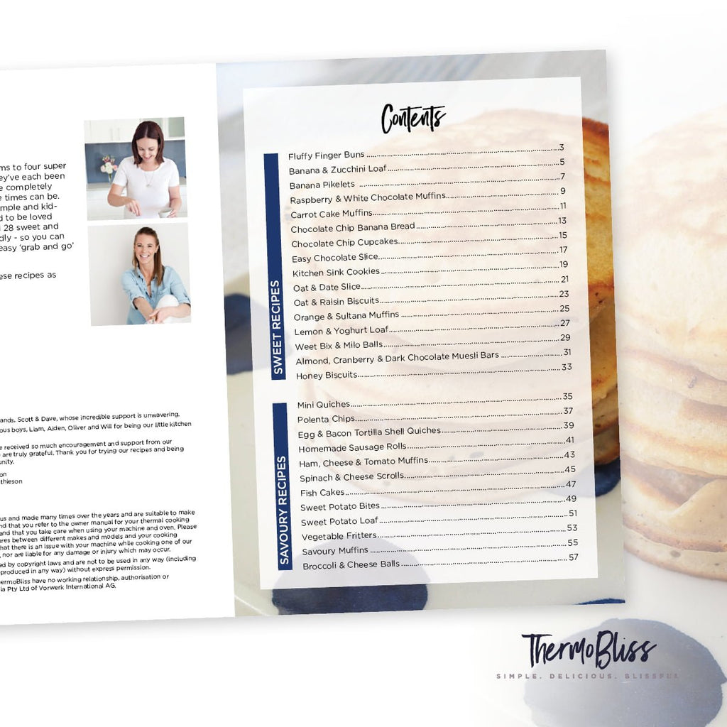 Thermomix Kids Snacks Volumes 1 & 2