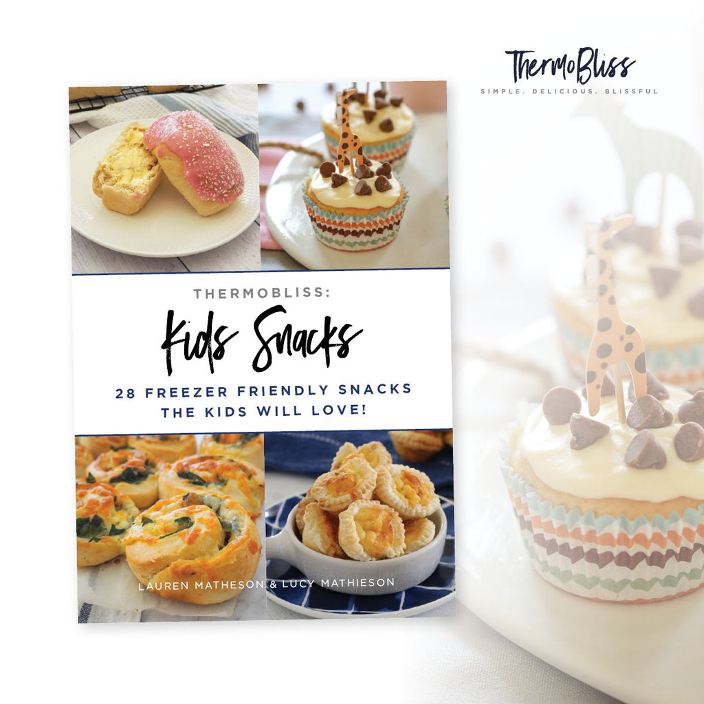 Thermomix Kids Snacks Volumes 1 & 2 And Lunch Box EBOOK Bundle | 3 eBook Set