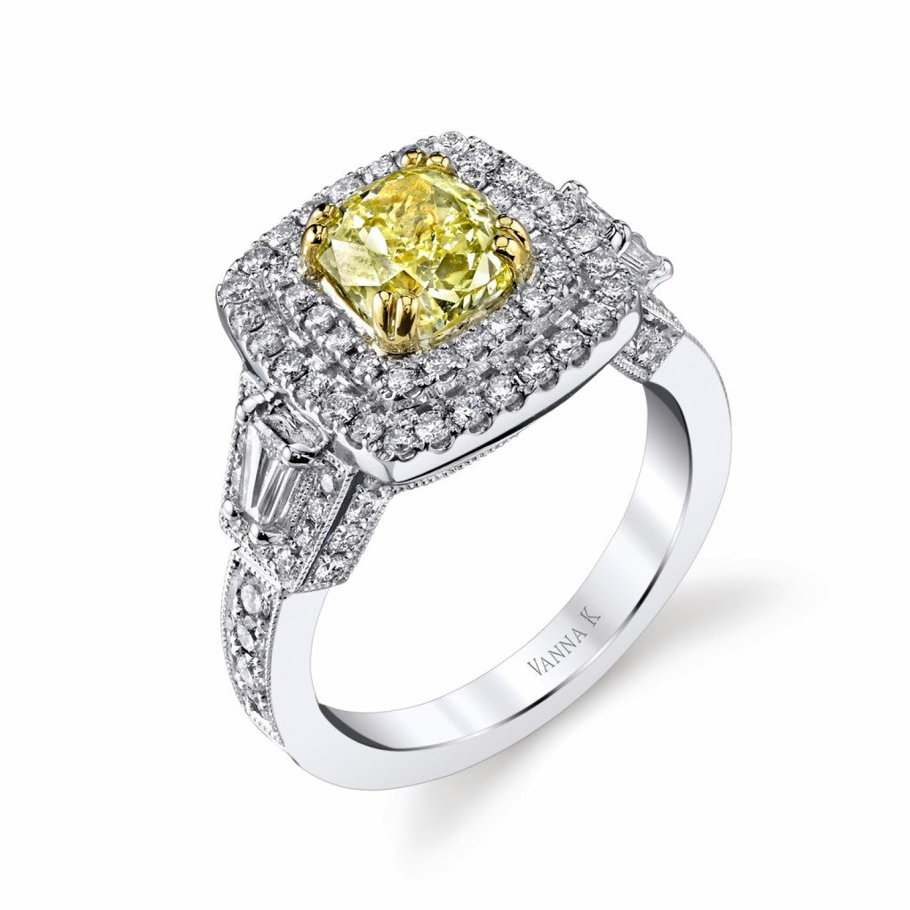 Canary yellow diamonds from this day forward