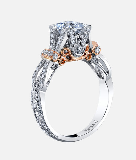 Two Tone Engagement Rings – the Hot New Trend