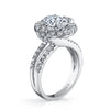 Vintage Inspired Diamond Pave Set Solea Ring Style 18RO51814DCZ