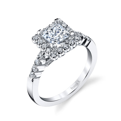 Kamara Diamond Bridal Ring Style 18RGL5392DCZ
