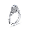 Kamara Diamond Bridal Ring Style 1RGL00276DCZ