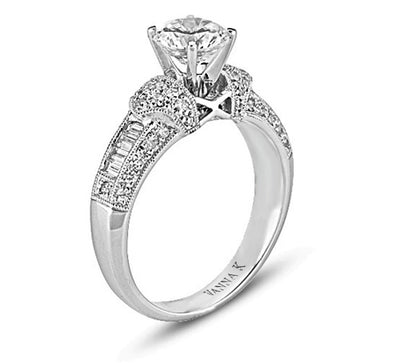 Ultra Lux Cascade Bridal Ring Style 18RM22623DCZ