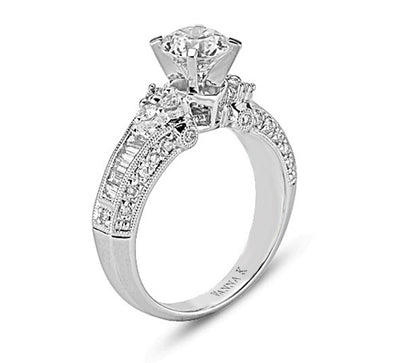 Ultra Lux Cascade Bridal Ring Style 18RM32424DCZ