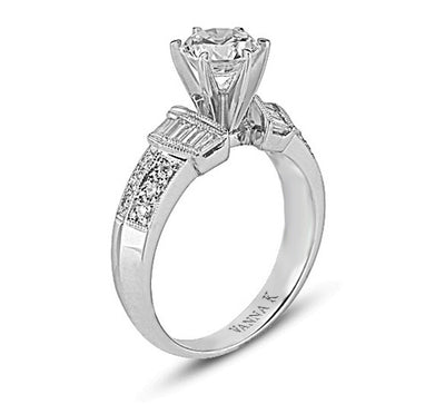 Ultra Lux Cascade Bridal Ring Style 18RM32425DCZ