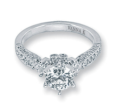 Kamara Diamond Bridal Ring Style 18RO2212DCZ