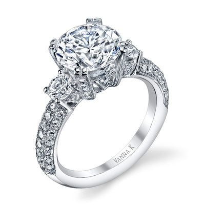 Kamara Diamond Bridal Ring Style 18RO5256DCZ