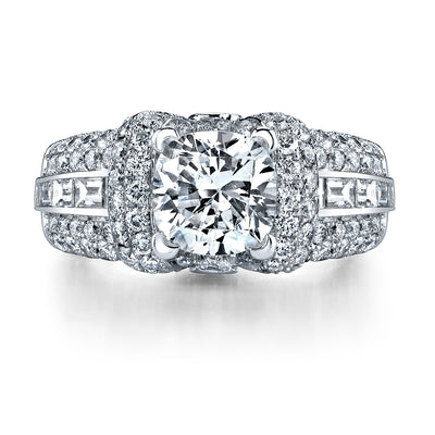 Ultra Lux Cascade Bridal Ring Style 18AR988771DCZ