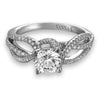 Vintage Inspired Diamond Pave Set Solea Ring Style 18RGL00176DCZ