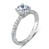 Vintage Inspired Diamond Pave Set Solea Ring Style 18RGL029DCZ