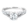 Vintage Inspired Diamond Pave Set Solea Ring Style 18RM48878DCZ
