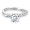 Vintage Inspired Diamond Pave Set Solea Ring Style 18RM93091DCZ