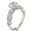 Vintage Inspired Diamond Pave Set Solea Ring Style 18RGL00637DCZ