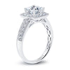Vintage Inspired Diamond Pave Set Solea Ring Style 18R651DCZ