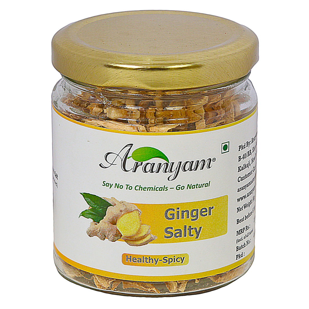 Ginger Salty Chews from North East, 50gm - Immunity Booster
