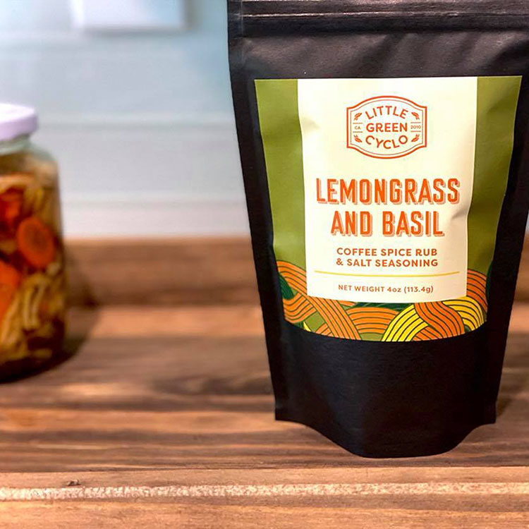 Lemongrass & Basil Spice Rub