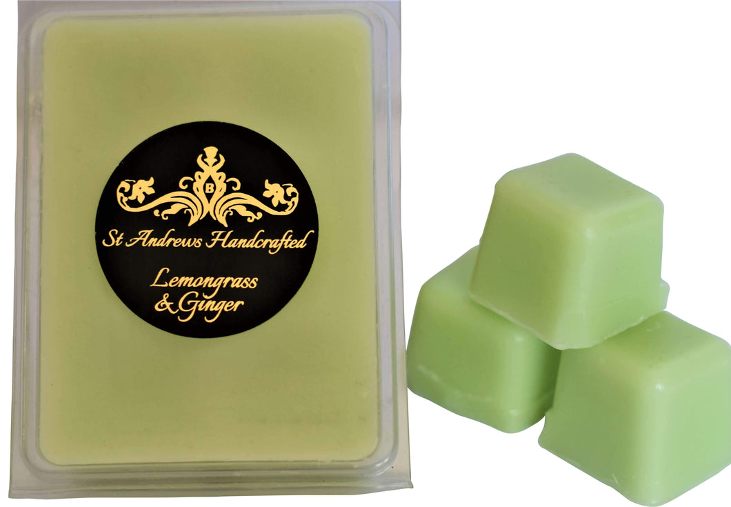 Lemongrass and Ginger Melt  Bar - St Andrews Handcrafted
