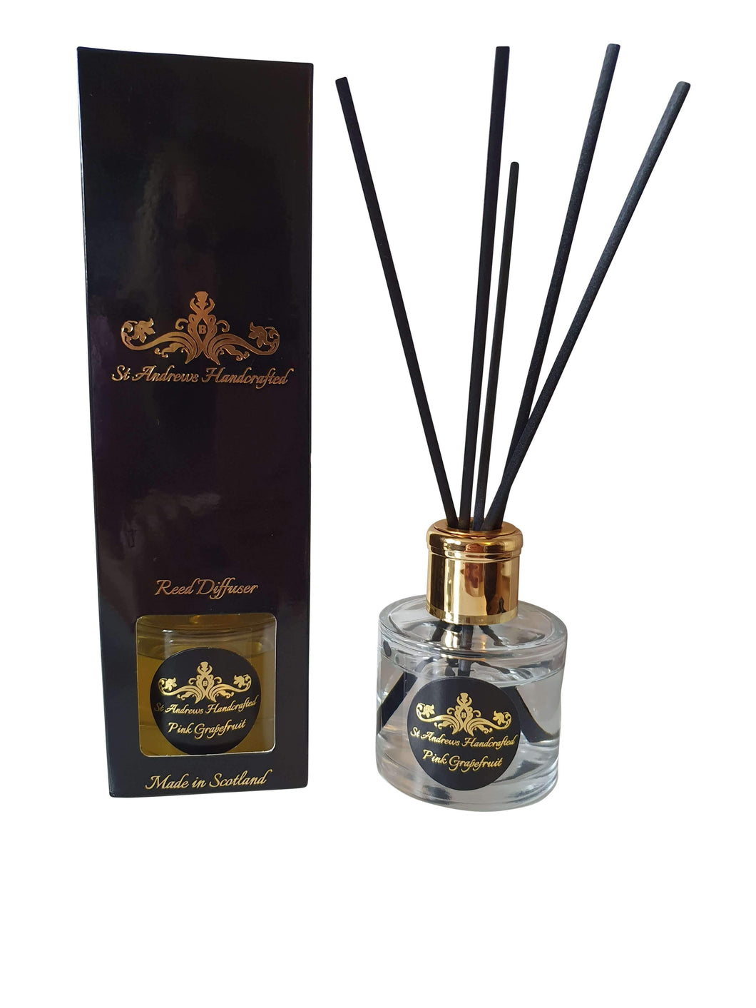 Pink Grapefruit Reed Diffuser - St Andrews Handcrafted