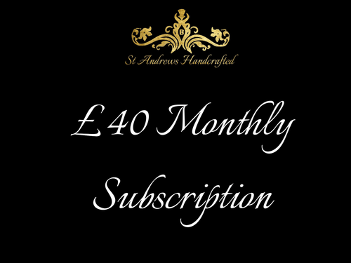 £40 Subscriptions - St Andrews Handcrafted