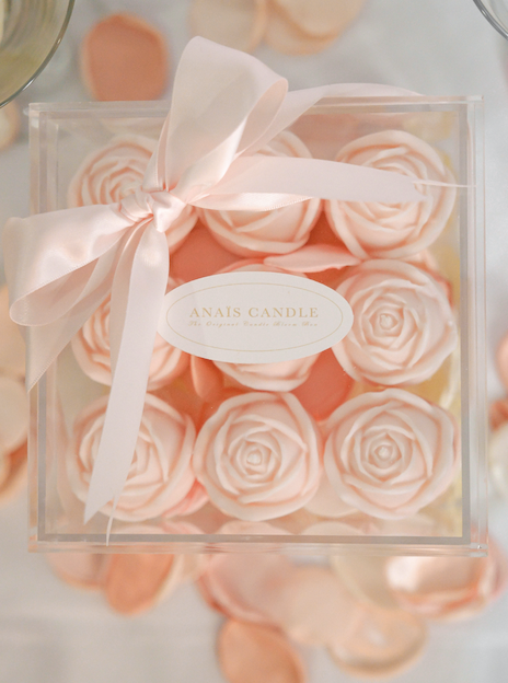 The Original Flower Candle Bloom Box by Anaïs™ In Pink