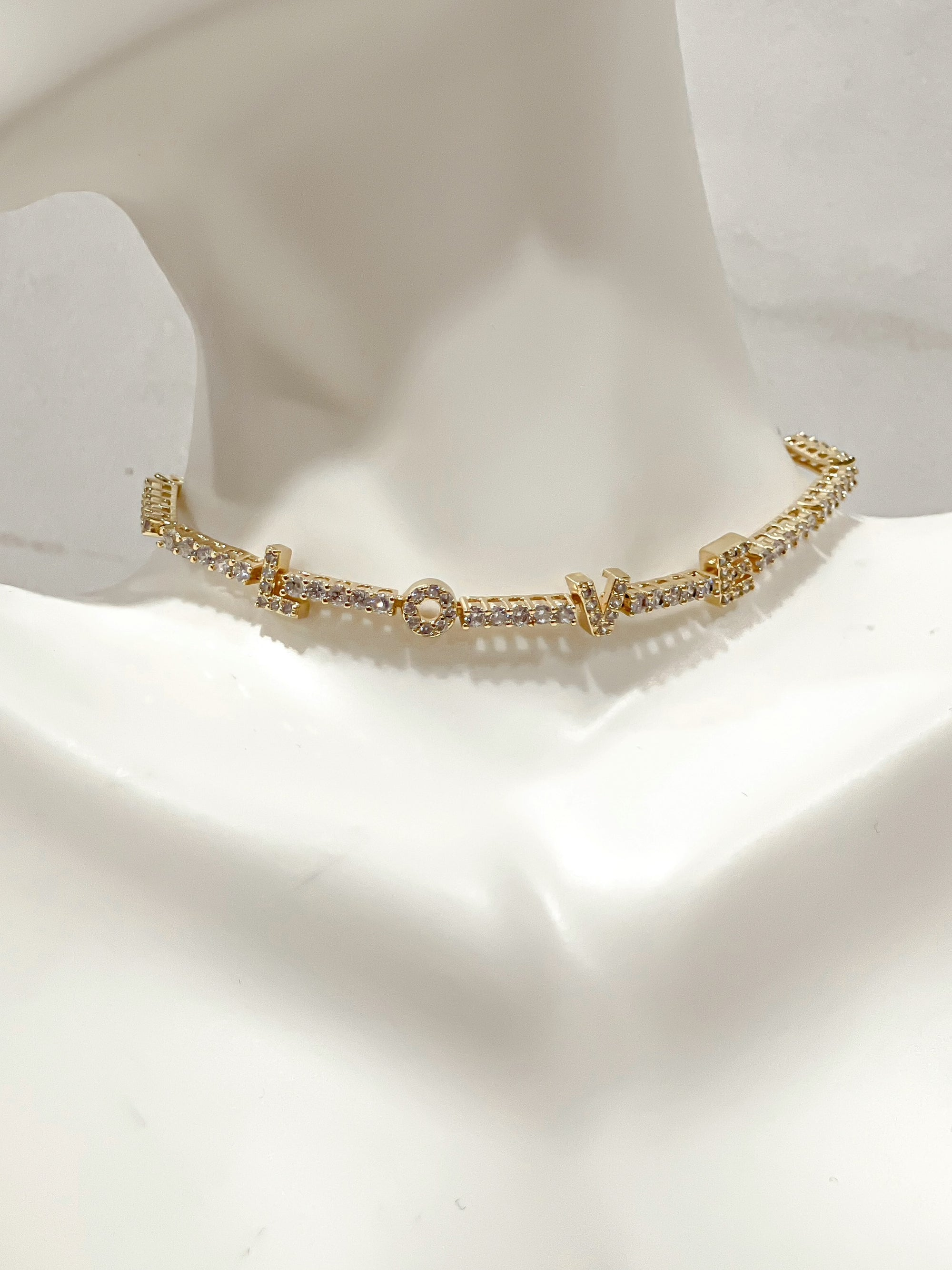 Anaïs Love 18k Gold Plated Bracelet