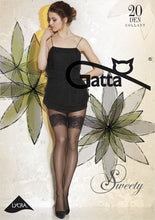 Load image into Gallery viewer, Gatta Sweety 11 | 20DEN | gemusterte Strumpfhose