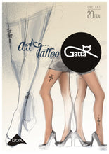 Lade das Bild in den Galerie-Viewer, Gatta Art Tattoo 01 | gemusterte Strumpfhose - GATTA FASHION