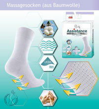Lade das Bild in den Galerie-Viewer, Assistance Damen Massagesocken | 2er Pack | - GATTA FASHION