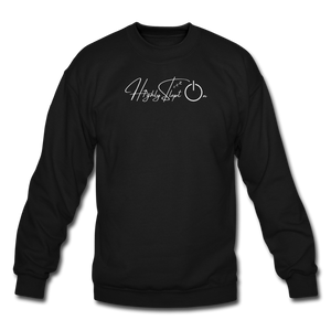 Unisex Sweatshirt Design White - black