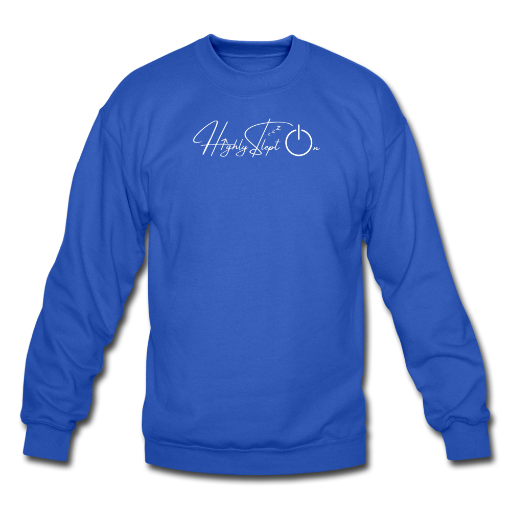 Unisex Sweatshirt Design White - royal blue