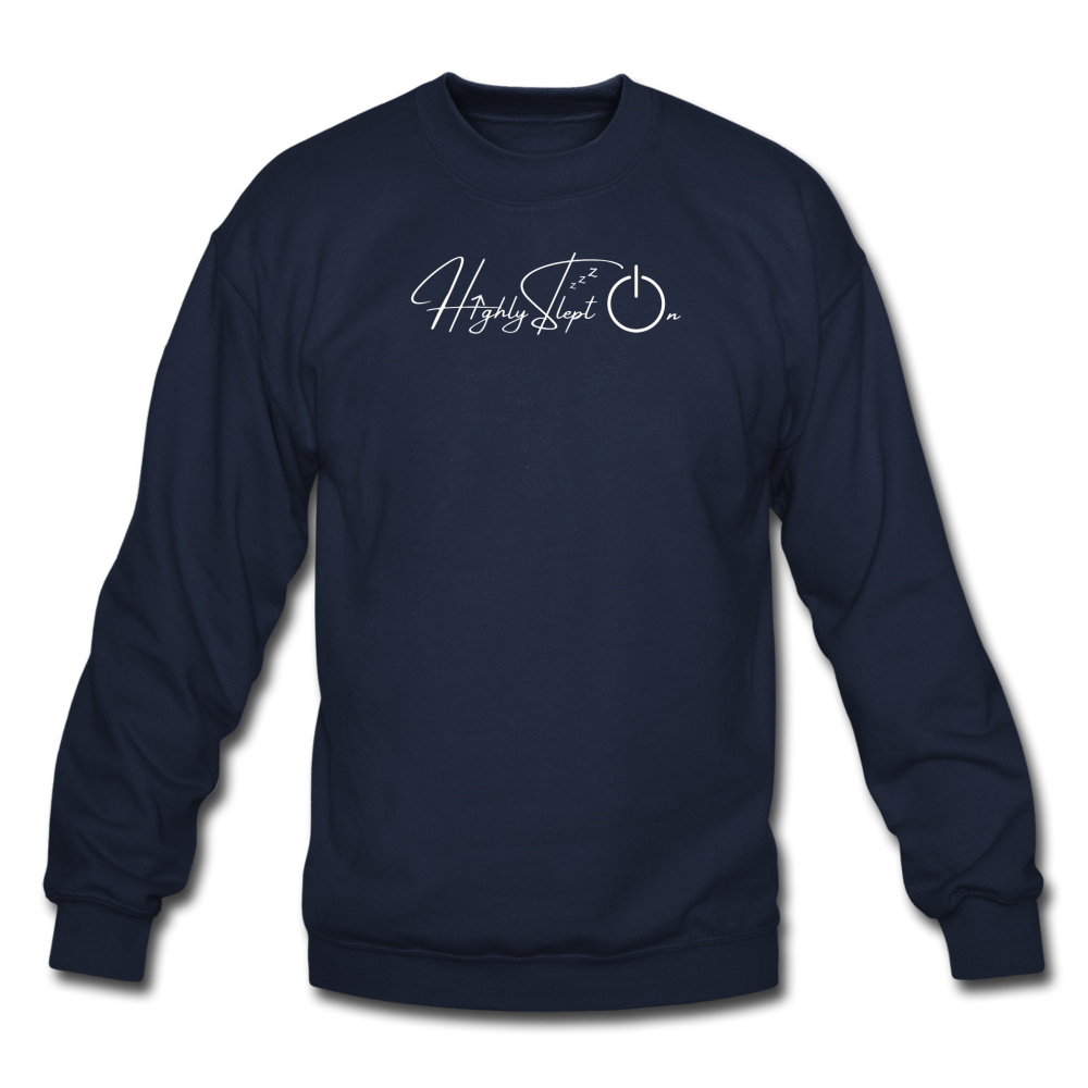 Unisex Sweatshirt Design White - navy