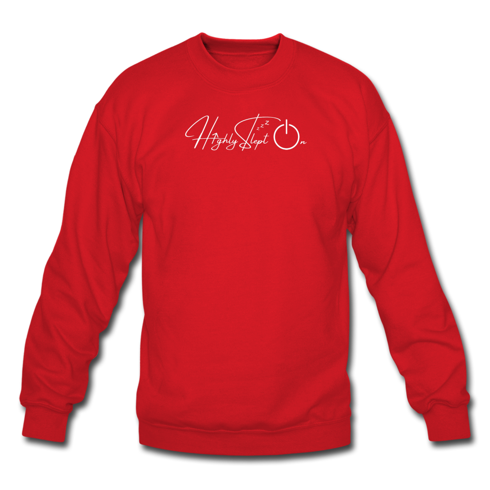 Unisex Sweatshirt Design White - red