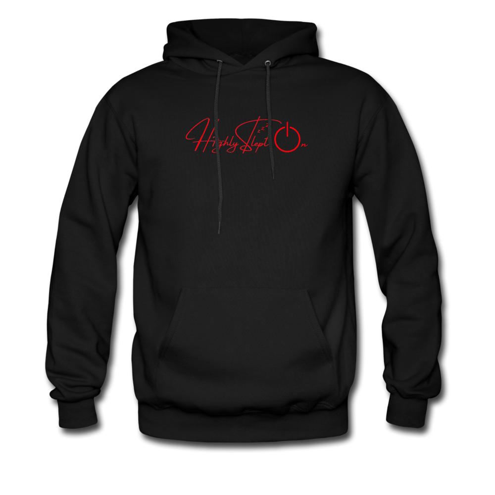 Men's Hoodie Design Red - black