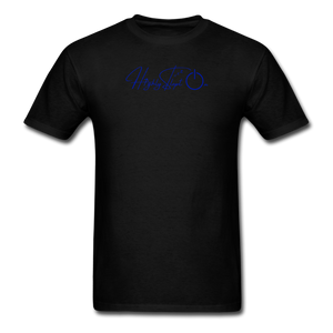 Unisex Design Royal Blue - black