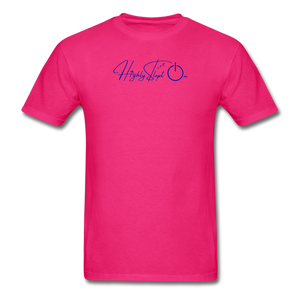 Unisex Design Royal Blue - fuchsia