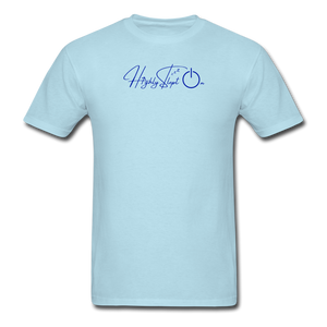 Unisex Design Royal Blue - powder blue