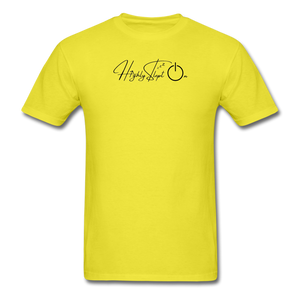 Unisex Design Black - yellow
