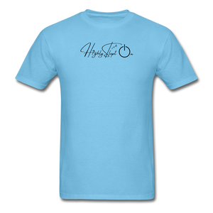 Unisex Design Black - aquatic blue