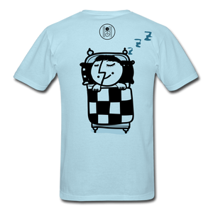 Sleep Apnea T-Shirt - powder blue