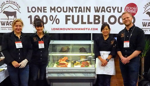 Lone Mountain Wagyu Team at Fancy Food Show