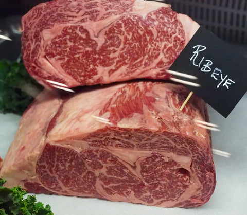 Lone Mountain Wagyu Ribeye at Fancy Food Show