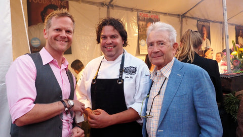 Griff, Chef, and Bob at the 2014 LA Food and Wine Event