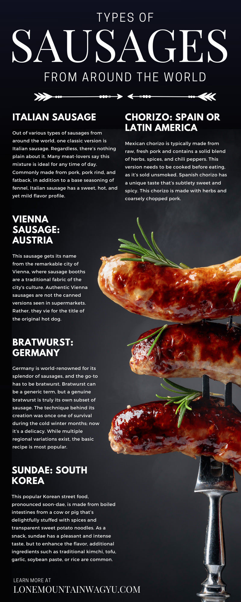Types of Sausages From Around the World