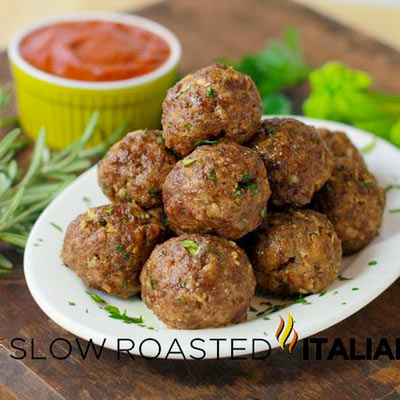 Lone Mountain Wagyu Italian Herb Baked Meatballs
