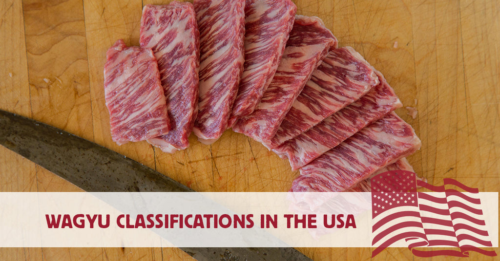 Wagyu Classifications in the United States