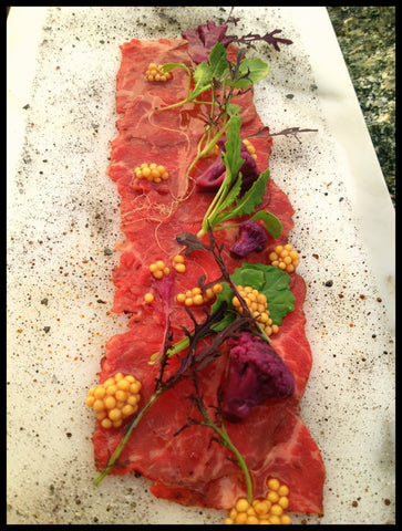 Lone Mountain Wagyu Carpaccio