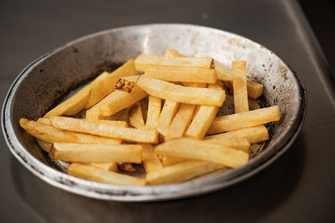 Fries for Wagyu Ribeye Steak Frites